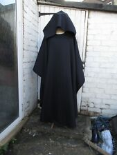 Apocalyptic lightweight cloak cape Black  Medieval Cosplay Vikings