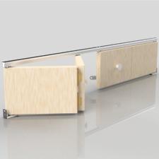 SLIK Bi Folding Bifold Sliding Interior Door Track Gear Kit Building Materials