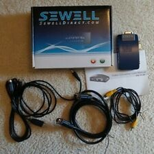 Sewell Video Converter VGA IN to VGA/RCA/S