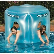 Kids Pool Toy Ice Cube Float 49 Inch Beach Water Swim Inflatable 2 Person New