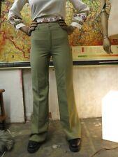 Betty Barclay Damenhose Schlaghose 90er grün retro TrueVINTAGE 90s green pants