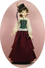 BJD pattern ensemble for Kaye Wiggs' 53cm Nelly, adjust for Dollstown Elf