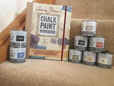 Annie Sloan Paint Mini Project size - 3 Paint Tins-many colours+Annie Sloan Book