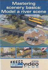 Mastering scenery basics: Model a river scene DVD Model Railroader video plaster