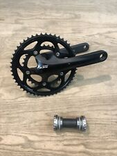 Shimano 105 FC-5750 2x10 50/34 Crankset 172.5mm Compact Road Bike Black