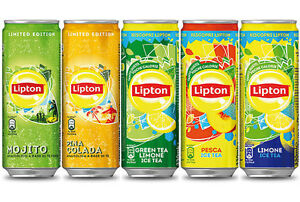 The 'LIPTON Canette X 24 Pcs Citron Sleek