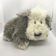 Jellycat Shaggy Sheep Dog Comforter Blankie Doudou Soother Soft Lovely to Feel