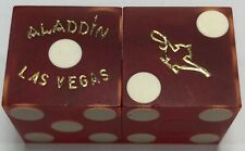 Aladdin Casino Dice Las Vegas Nevada Matching Numbers (Lamp)