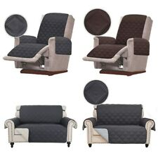 1/2/3 Seater Chair Recliner Seat Loveseat Sofa Cover Couch Slipcover Protector
