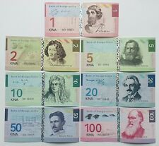 Bougainville set 7 banknotes 2012 UNC Private issue (12552)