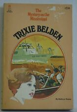 Trixie Belden Kathryn Kenny pb 15 Mystery on Mississippi children's series lot 2