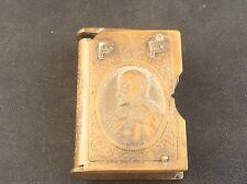 Antique Vulcanite Bakelite Edward VII Commemorative Coronation Vesta Case PP