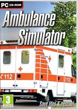 AMBULANCE SIMULATOR 2011.BRAND NEW SEALED PC SOFTWARE. SHIPS FAST AND SHIPS FREE