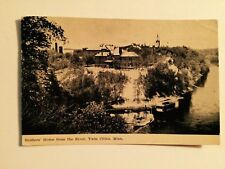 OLD 1911 PHOTO POSTCARD  ~ SOLDIER'S HOME FROM THE RIVER TWIN CITIES MINN