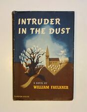 1948 INTRUDER IN THE DUST by William Faulkner, 1st Edition First Printing, DJ VG
