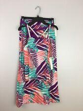 NWT Roxy Girl Hawaiian Print Tank And Skirt or Swimsuit Coverup, Large ($38+$34)