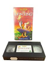 The Lion King - Walt Disney Classics - PAL VHS Video Tape Cassette