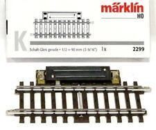 Märklin 2299 H0 - Schaltgleis gerade 90,0mm  NEU & OvP
