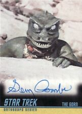 Star Trek ToS 40th Ann. Gary Combs as The Gorn A228 Auto Card