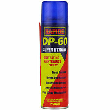 10 x dp-60 Penetrar Liberar LIMPIADOR MANTENIMIENTO SPRAY 250ml Dp60 Lubricante