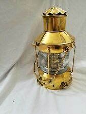 Solid Brass Holland Nautical Oil Lantern