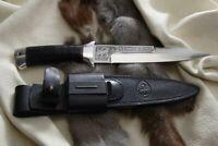 Russisches Messer, Jagdmesser A&R Zlatoust -- Rys Leder