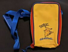 Vintage GameBoy Color Official Pokemon Yellow Carrying Case Shoulder Bag Pikachu