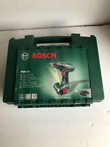 Bosch PSR 12 cordless drill - in plastic case