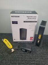 Netgear N600 WiFi Cable Modem Router Model C3700v2