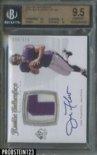 2008 SP Authentic Joe Flacco RPA RC Rookie Patch AUTO /999 BGS 9.5