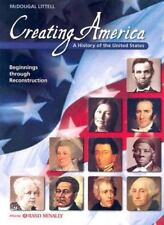 Creating America: A History of the United States Beginnings Reconstruction, Jesu