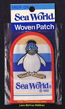 LMH PATCH Badge  1982 SEA WORLD  Seaworld  PENGUINS ON PARADE Marine Exhibit NIB