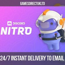 Discord Nitro 🚀 3 Months + 2 Boosts  ✅ INSTANT DELIVERY BY EMAIL ✅