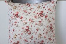 Shabby Cottage Chic  Decorative  Pillow  Waverly  Fairhaven Rose  16 x 16