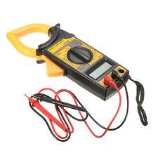 Dt266 Digital Electronic Clamp Meter Multimeter Ac Dc Current Volt Tester