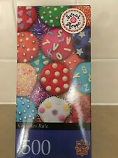 Fun to Do, Mouhwatering Cupcakes Rule 500 Piece Jigsaw Master Pieces Puzzle