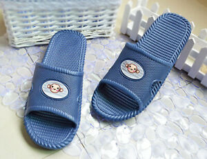 Indoor Shower Shoes Bath Slippers Women&Men Non-Slip Home Garden Shoes Sandals