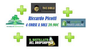 Riccardo Picotti: 4 CORSI 2021