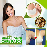 20 PCS Herbal Lymph Care Patch Neck Lymphatic Detox Patch to Remove Underarm Fat