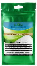 NoFillerSupplements Horny Goat Weed Extract High Icariin 90 Veggi Capsules