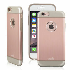 MOSHI iGLAZE ARMOR ROSE GOLD PINK ALUMINUM HARD CASE COVER FOR APPLE iPHONE 6 6s