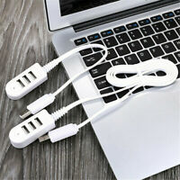 USB 3.0 Hub 3-Port High Speed Slim Compact Expansion Portable Multi Splitter AU