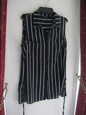 SMART AND SASSY IN STRIPES NICE COOL SHIRT BY ROCKMAN'S SIZE 12