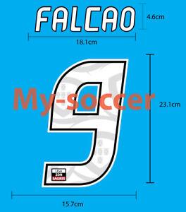 FALCAO #9 FC PORTO Home 2010-11 NAME NUMBER PRINT EXCELLENT QUALITY