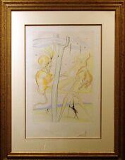 "Salvador Dali ""Le Singe et le Leopard"" framed Authentic Artwork SUBMIT AN OFFER!"