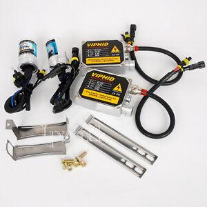 35W Car HID Xenon Headlight Light Conversion Kit AC Ballast 9006 10000K Bulbs