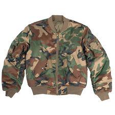 MILTEC Aviator Jacket Ma1 Kids M.abz. Woodland Size XL