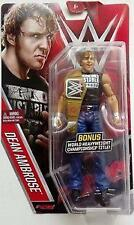 DEAN AMBROSE WWE Mattel Basic 61 Brand New Toy - BELT VARIANT Damaged Packaging