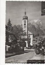 Hergiswil Kirche Mit Pilaus Switzerland Vintage Postcard 456a