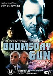 Doomsday Gun DVD - 1994 Kevin Spacey TRUE STORY MOVIE -  Frank Langella - RARE